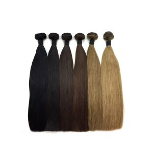 Coloured brazilian hair