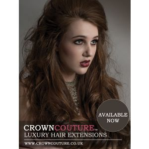 Promotional poster hair extensions