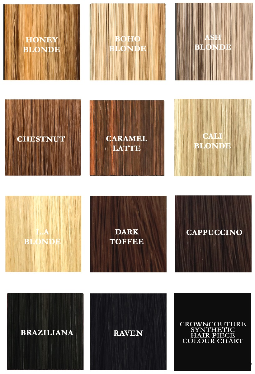 Synthetic Hair Chart