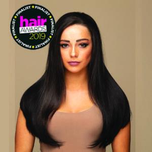 3/4 wig hair piece