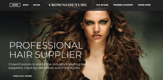 CrownCouture website launch