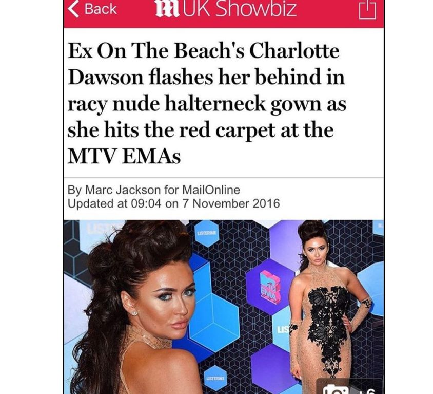Charlotte Dawson wears CrownCouture hair