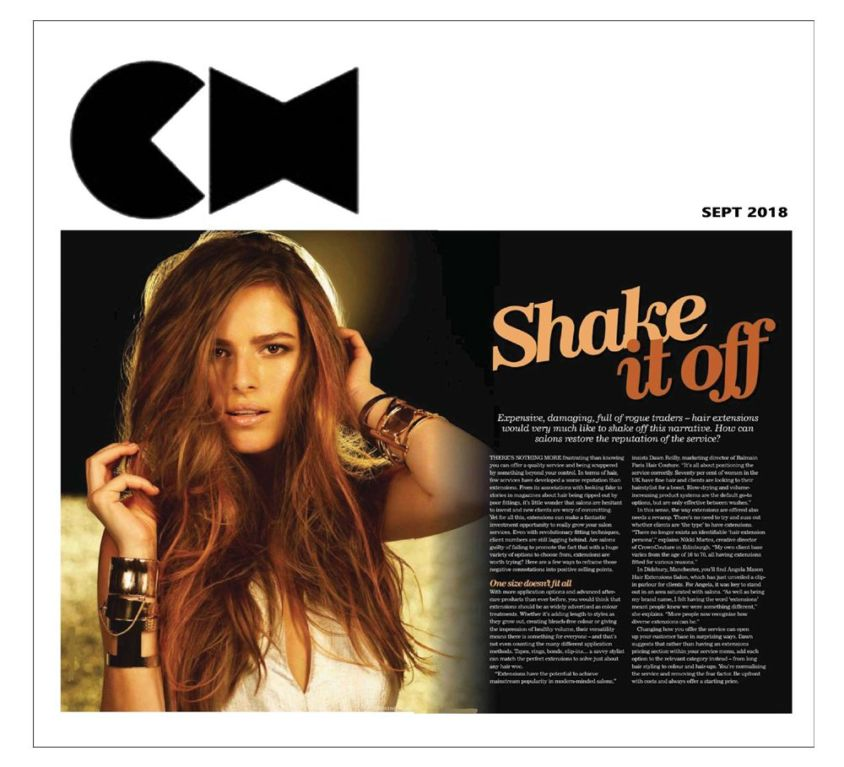 Creative HEAD Magazine features CrownCouture