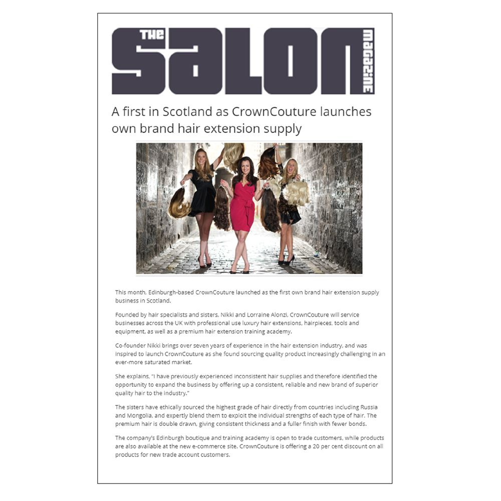 The Salon Magazine - CrownCouture