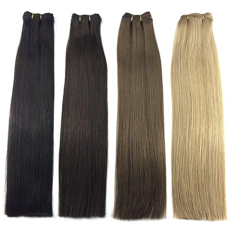 Double drawn Russian Mongolian hair